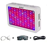 AXHJ 1000W LED Grow Light Double Chips Full Spectrum LED Grow Lamp with UV&IR for Greenhouse Hydroponic Indoor Plants Veg and Flower All Phases of Plant Growth. Review