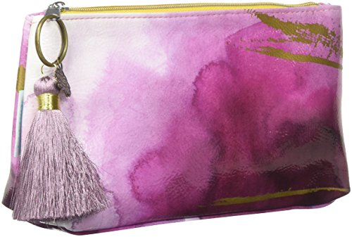 Papaya Art Plum Watercolor Small Tassel Pouch by Papaya Art (Image #2)'