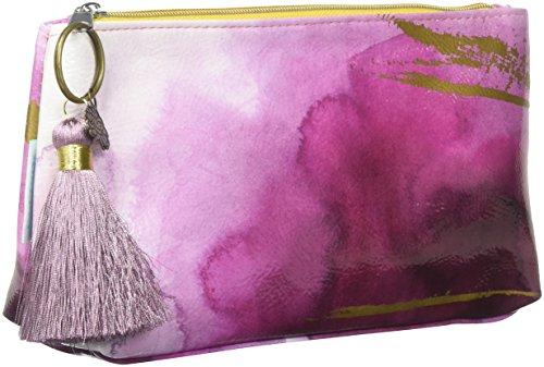 Papaya Art Plum Watercolor Small Tassel Pouch by Papaya Art (Image #2)