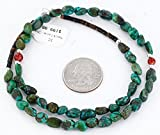 Delicate $200 Retail Tag Authentic Made by Charlene Little Navajo Silver Natural Turquoise CARNELIAN Native American Necklace