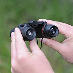 VicTsing 8 x 21 Mini Folding Binoculars Telescope with Wide Angle for Outdoor Travel, Sightseeing, Camping, Birdwatching, Hunting, Golf