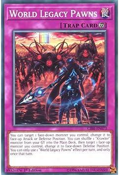 WORLD LEGACY PAWNS YU-GI-OH CARD CIBR-EN073 1ST EDITION