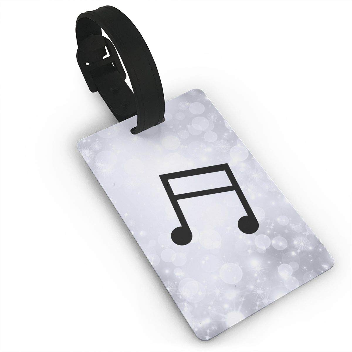 Music Note Baggage Tag For Travel Bag Suitcase Accessories 2 Pack Luggage Tags
