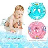Bath Seat Ring 2016 Most Popular child&baby Inflatable Safety Seat Float Ring Raft Chair Pool Swimming Toy with Handle,useful&funny in the bathtub at home Blue/Pink