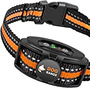 DOGRANGE Rechargeable Dog Bark Collar with Dual Motor Function - Humane No Shock Training - Vibration & Be