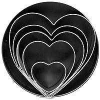 Fox Run Heart Cookie Cutter Set 5-Piece