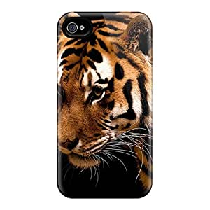 Fashionable Style Case Cover Skin For Iphone 4/4s- Tiger
