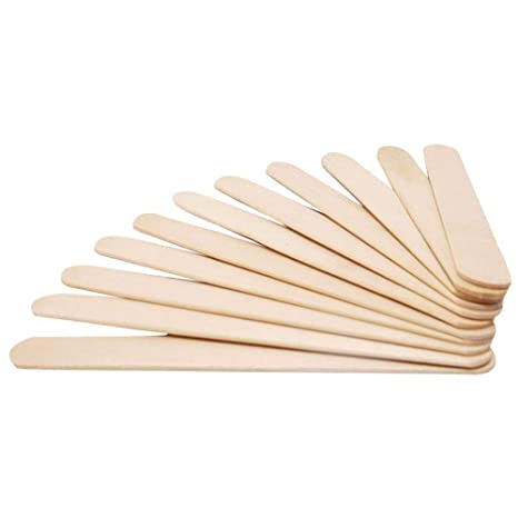 50 piezas de palitos palillos de helado artesanal de madera ...