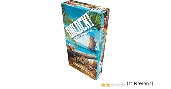 Asmodee Unlock! The Tonipal`s Treasure: Amazon.es: Juguetes y juegos