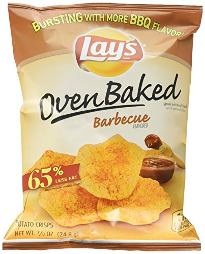 Lay's Oven Baked Barbecue Flavord Potato Crisps, 0.875 Ou...