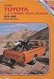 Toyota Service Repair Handbook, Alan Ahlstrand, 0892872055