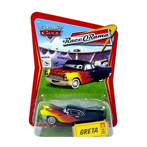 Race O-rama Series (Disney / Pixar CARS Movie 1:55 Die Cast Car Series 4 Race-O-Rama Greta)