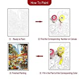 Rihe Paint By Numbers Kits Diy Oil Painting for