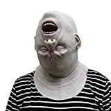 zombie seat covers for trucks - Honhui Halloween Masks,Deluxe Novelty Zombie Props Latex Pumpkin Head Mask Costume Party,Best Gift for Friends (C)