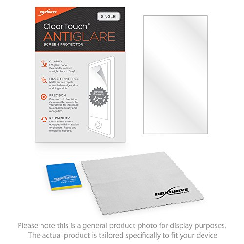 Topcon GRS-1 Screen Protector, BoxWave [ClearTouch Anti-Glare] Anti-Fingerprint, Scratch Proof Matte Film Shield for Topcon GRS-1, FC-1000 by BoxWave