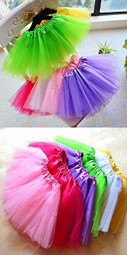 MIOIM filles varies enfants jupe pour Jupon Mini et adultes pour Blau2 danse Tailles Tutu de wRqxAA