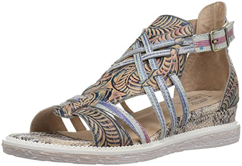 Step Tashina L'Artiste by Denim Sandals Spring Blue Women's aBEBr