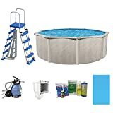 Cornelius Pools Phoenix 24' x 52'' Frame Above Ground Pool Kit with Pump & Ladder