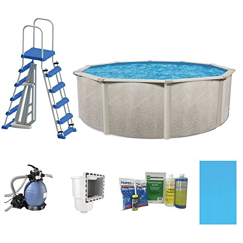 Cornelius Pools Phoenix 24' x 52'' Frame Above Ground Pool Kit with Pump & Ladder by Cornelius
