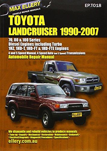 Toyota Landcruiser 1990-2007 Automobile Repair Manual: Diesel Engines including Turbo