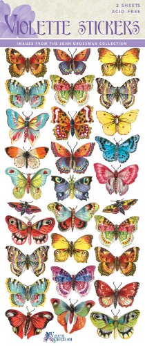 Butterfly Stickers - 8