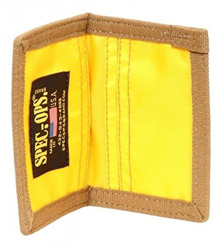SpecOps SO100070611 Mini Reversible Wallet, Coyote Brown