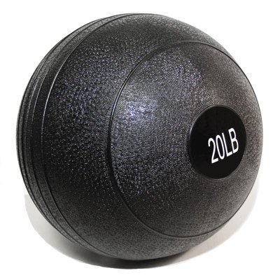 Valor Fitness Slam Ball, 20-Pound, Black