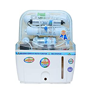 R.k. Aqua Fresh India Swift Plus 12ltrs 14Stage Advanced Protection (Ro+Uv+Uf+Mineral Catridges+Tds Adjuster) Technology Ro Water Purifier