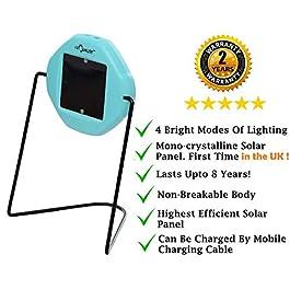i-Solarlite® FIZI LED Solar Emergency Light | Integrated Lamp Durable Switch | Wall Mountable |Study Lamp | Solar Reading Lamp I Solar Camping Light