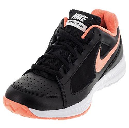 Nike Women's Air Vapor Ace Tennis Shoes (6.5 B(M) US, Black/Bright Mango-White) (Cool Womens Nike Tennis Shoes compare prices)