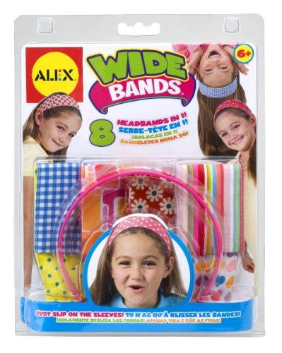 ALEX Toys Do-it-Yourself Wear Wide Bands Headbands (Alex Ribbon Headband)