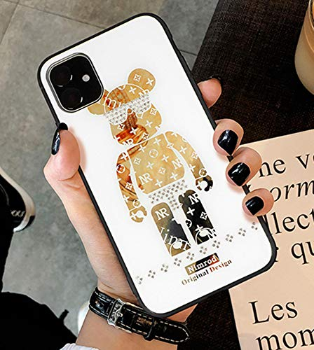 Buy Cheap Aulzaju Case for iPhone 11 6.1 Inch, iPhone 11 Cute Bear Cover iPhone 11 Bling Beauty Fash...