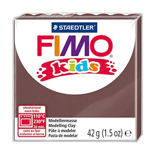 Staedtler Fimo Kids Oven-Bake Modeling Clay, 1.5 oz, Brown