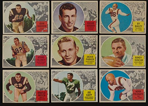 1960 Topps CFL Football EX avg complete 88 card mid grade set 47165