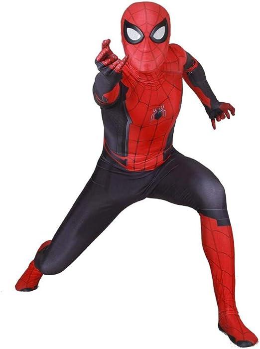 WEDSGTV Disfraz De Spiderman De Halloween para Lejos De Casa Traje ...