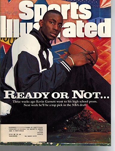 Kevin Garnett Draft - Sports illustrated June 26 195 Kevin Garnett NBA Draft