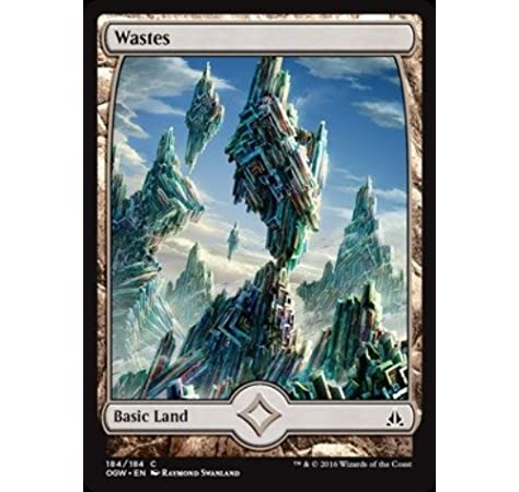 Magic The Gathering Wastes 184 Oath of the Gatewatch Used