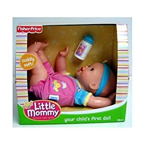 Little Mommy: Your Childs First Doll - Light blue and pink outfit