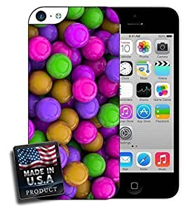 3D Colorful Candy Balls For Iphone 4/4S Phone Case Cover Hard Case