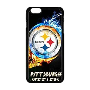 Happy NFL Pittsburgh Steelers Cell Phone Case for Iphone 6 Plus Kimberly Kurzendoerfer