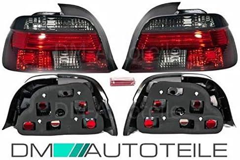Dm Autoteile Rückleuchten Heckleuchten Set Celis Rot Smoke Passt Für E39 Limousine 95 00 Auto