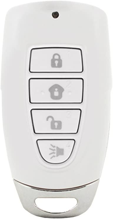 MK-MT Skylink Wireless Security Keychain Remote Keyfob for SkylinkNet Connected Home Alarm Security & Home Automation System and M-Series. Remotely Arm & Disarm your Home Security System