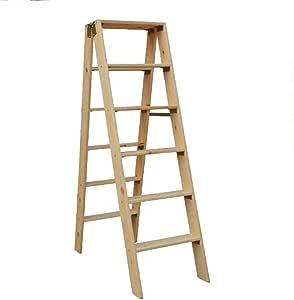 LIXIONG Escalera Plegable Escalera De 6 Pasos De Múltiples Fines ...