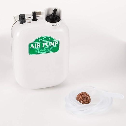 Amazon.com: HDT - Bomba de aire para acuario de doble ...