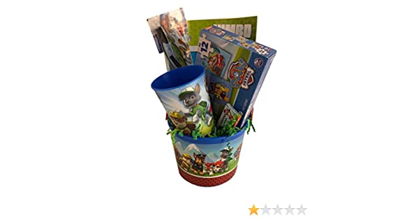 Boys Paw Prefilled and Premade Party Gift Basket Toy Favor Set for Kids Generic