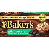 Baker's German's Sweet Chocolate Baking Bar, 4 Ounce (Pack of 12)