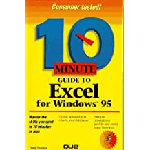 10 Minute Guide To Excel for Windows 95