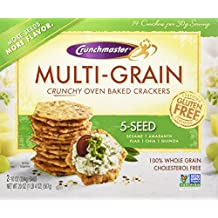 Crunchmaster 5 Seed Multigrain Cracker, 20 Ounce