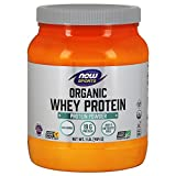 now foods whey protein unflavored - NOW Sports Organic Whey Protein Natural Unflavored,1-Pound