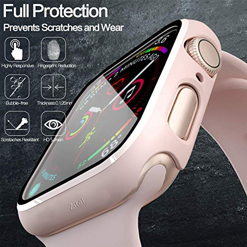 Zitel® Case Bumper Cover with Built-in 9H Tempered Glass ...